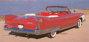 The 1960 Plymouth Fury sported large, magnificent tailfins, while most competitors were taming theirs down. See more classic car pictures.