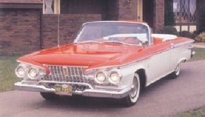 The design of the 1961 Plymouth Fury was much more subdued than its predecessor, but failed to save the Fury.