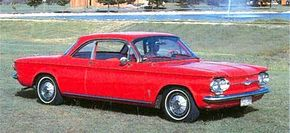 By 1961, production of the sporty Corvair Monza was in full swing and the car was selling like hotcakes. See more classic car pictures.