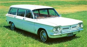 A Chevrolet Corvair Monza station wagon was introduced in 1962, but lasted only one year.