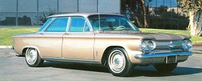 A four-door sedan also joined the line in 1962, though this 1964 version was outsold even by the convertible that year.