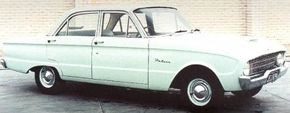 The starting point for the 1960 XK Falcon was the standard sedan with a 144-cid six and three-speed transmission.