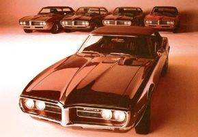 The full 1967 Pontiac Firebird line, with a Sprint convertible as the star of the show. See more Pontiac Firebird pictures.