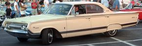 The 1960 Mercury Park Lane Sedan came in both ragtop and convertible models. See more classic car pictures.