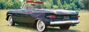 Studebaker chopped the front and rear overhang of the Loewy, creating the Lark.
