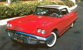 The 1960 Ford Thunderbird was one of the greatest achievements in American automotive design. See more classic car pictures.