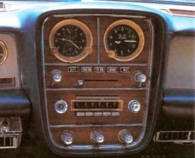 Also per Duesenberg tradition, the Model D's full instrumentation included a stopwatch and altimeter.