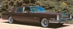 The second stab at a modern Duesenberg was this 1970s Duesenberg concept car. It was based on a Cadillac sedan and dated from 1976.