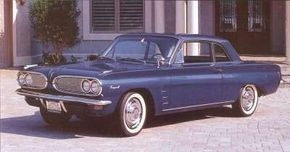 The 1961 Pontiac Tempest Custom was quickly identified by its wrapped read roor quarters that gave it the look of a convertible.