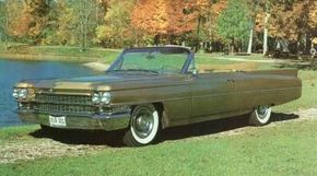 Like this 1963 Series 62 Cadillac, the 1964 version boasted Hydra-Matic transmission.