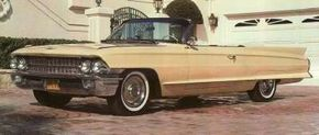 The styling of the 1961 Cadillac continued with the 1962 models. See more pictures of Cadillacs.