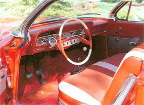 Interiors wore special trim, a 7,000-rpm tach, and a front-passenger grab bar.