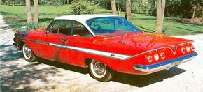 The Super Sport was initially an option package available on any Impala body style, but most were probably two-door Sport Coupes. See more classic car pictures.