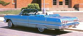In 1964, the Super Sport became a separate model rather than an option package.