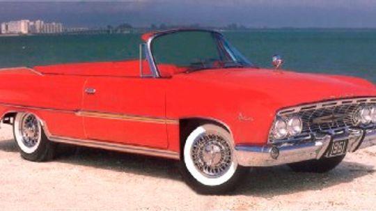 1961 Dodge Polara D-500 Convertible