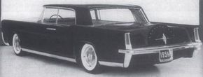 McNamara thought Engel's 1961 Lincoln Continental concept had promise if it could be enlarged into a four-door.