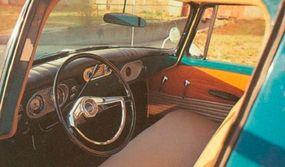 The 1961 Studebaker Champ borrowed not only its grille from the Lark, but its cabin design, too. The result was fine driver comfort for long hauls.