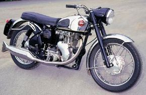 Velocettes ran with large-displacement singles while most rivals boasted twins. See more motorcycle pictures.