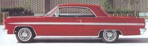 Despite its all-new looks, demand for the 1963 Oldsmobile F-85 Jetfire rose only slightly.