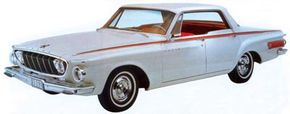 A four-door hardtop was hastily added to the Polara 500 lineup for 1962.