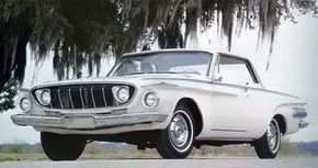 The 1962 Dodge Polara 500 was considerably smaller than its forebears, with a 116-inch wheelbase.