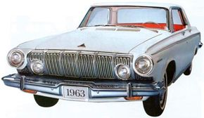 Extensions of the vertical grille, an Elwood Engel touch, didn't survive into the start of full series production.