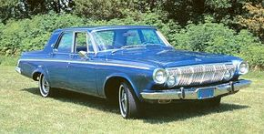 In 1963, the standard-size Dodges gained three inches in wheelbase and more conservative styling.