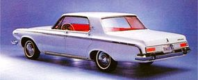 Dodge's standard-size cars took on some new model names to go along with their new styling for 1963.