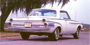 Though compacts were quite popular in the early 1960s, the public still wanted full-size cars like the 1962 Dodge Standard. See more classic car pictures.