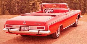 Even the top-line Dodge Polara 500, available in coupe, hardtop sedan, and convertible, sold a total of only 12,268 copies.