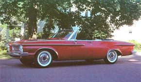 The 1964 Plymouth Sport Furys were treated to a mild facelift, while coupes wore new V-shaped rear pillars.