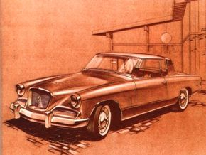 This version of the 1962 Studebaker Gran Turismo Hawk includes a restyled 1961 Hawk grille.