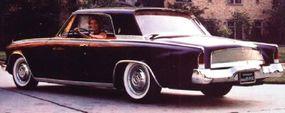 This 1962 Studebaker Gran Turismo Hawk prototype shows the full-length rocker panel trim.