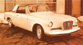 The White Hawk was a Gran Turismo Hawk show car that made the rounds in 1962.