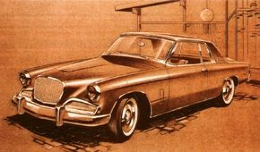 Brooks Stevens and his design crew in Milwaukee tried many different approaches in restyling the Studebaker Hawk. See more classic car pictures.