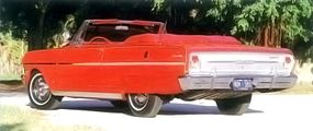 Rear view of the 1963 Chevy II