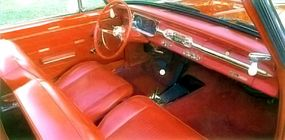 The 1963 Chevy II SS also featured SS badges on the rear fenders, decklid, and glovebox door.