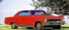 A Chevrolet Chevy II design study, dated April 3, 1964.
