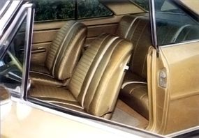 The 1967 Chevrolet Chevy II Nova SS was not only handsome, but rather lavish inside.
