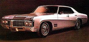 The 1970 Wildcat hardtop sedan was the most popular choice of the year, at 12,924.
