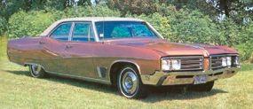 The four-door sedan was the most popular 1968 Wildcat with 15,201 units built.