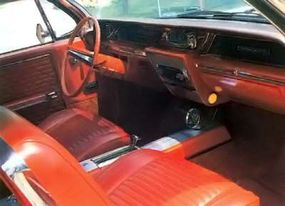 A bucket-seat interior and distinctive exterior trim set the 1962 Wildcat apart from other Buicks.