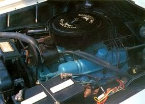 The 1962 Wildcat used the same 325-horsepower V-8 engine as the Electra.