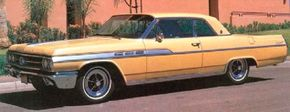 The 1963 Buick Wildcat coupe sold for $3,849, and 12,185 were built. See more classic car pictures.