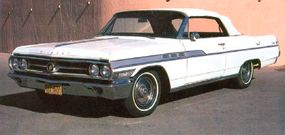 The 1963 Wildcat convertible weighed in at 4,228 pounds and listed at $3,981, but options usually pushed the total up to $5,000.