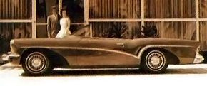 The 1955 Buick Wildcat III had a distinctively stylish look.