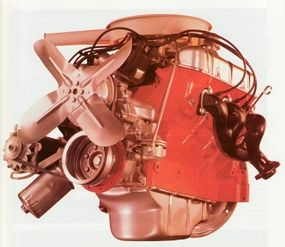 The V-6 was the first GM engine to use cast connecting rods.