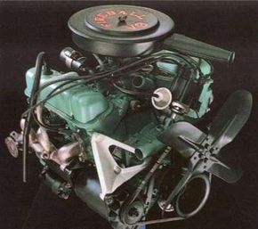 The new Buick V-6 had a horsepower of 135.