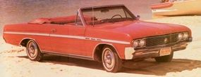 In 1964, the same year this Skylark was built, the displacement of the V-6 grew from the original 198 cubic inches to 225.