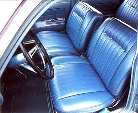 Bucket seats were optional for the Chevy Monza wagon.